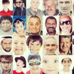foto di persone con struttura sociale diversa