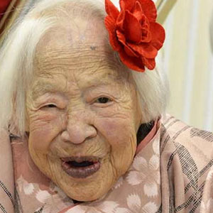 centenari - Misao Okawa la centenaria giapponese