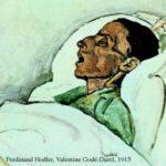 ospedalizzazione della morte quadro Ferdinand Hodler, Valentine Godé-Darel, 1915