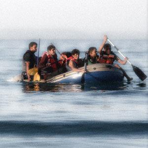crisi migratoria europea: barconi