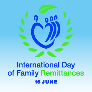 logo Giornata internazionale delle rimesse familiari