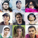 foto di giovani migranti