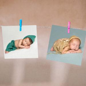 calo della fecondità - foto di bambini