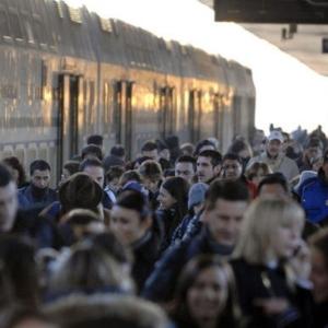 stazione ferroviaria: migrazioni temporanee per lavoro