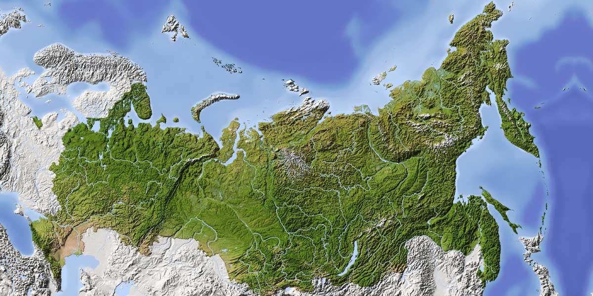 Russia Oggi Cartina.La Russia Troppo Grande Troppo Vuota Leggi L Articolo Su Neodemos