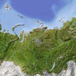 mappa della russia