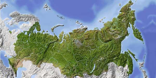 Cartina Russia Regioni.La Russia Troppo Grande Troppo Vuota Leggi L Articolo Su Neodemos